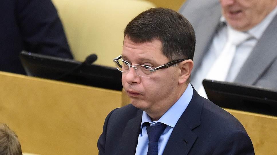 Председатель комитета по экономической политике и промышленности Госдумы Сергей Жигарев