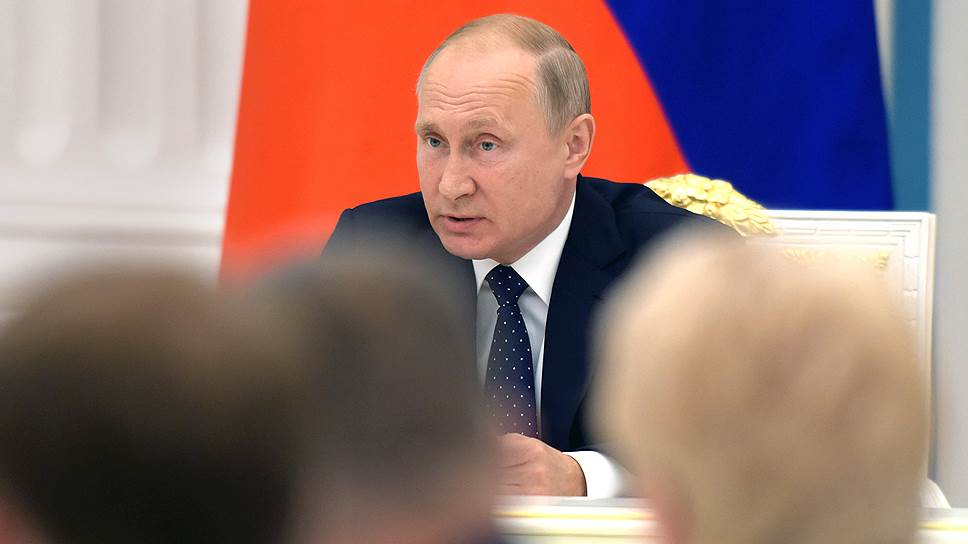 Владимир Путин задумался о возрасте