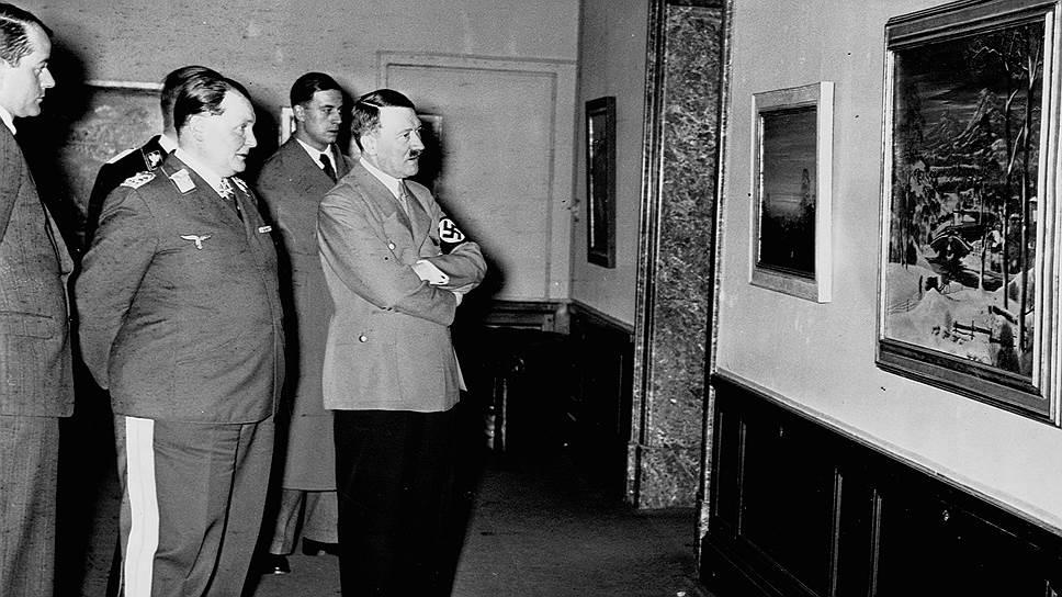 Гитлер и Геринг — большие поклонники творчества ван Эйков, считали, что Гентский алтарь должен находиться в Германии
