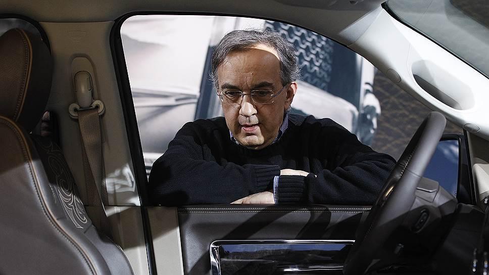 Бывший гендиректор Fiat Chrysler Серджо Маркьонне