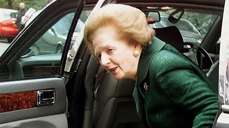 Бывшая премьер-министр Великобритании Маргарет Тэтчер