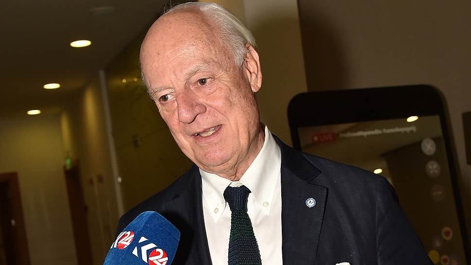 Спецпредставитель генсека ООН по Сирии Стаффан де Мистура
