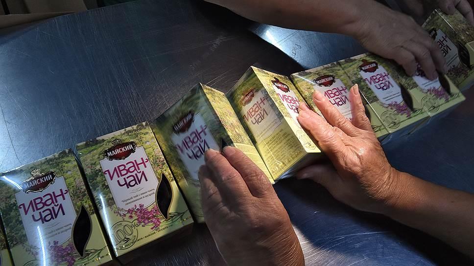 Крупные производители хотят занять иван-чаем полки во всех магазинах страны