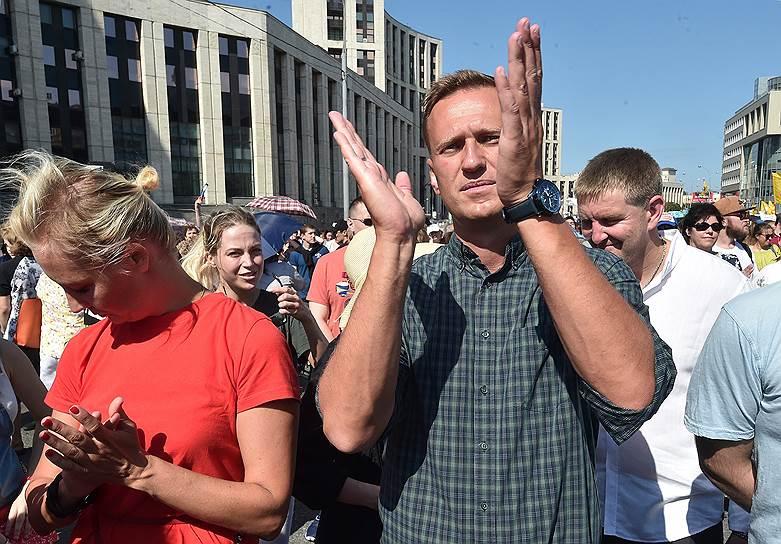 Лидер Фонда борьбы с коррупцией Алексей Навальный