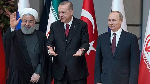 Владимир Путин пока не планирует обсуждать Сирию в Стамбуле // Саммит в астанинском формате пройдет в Тегеране