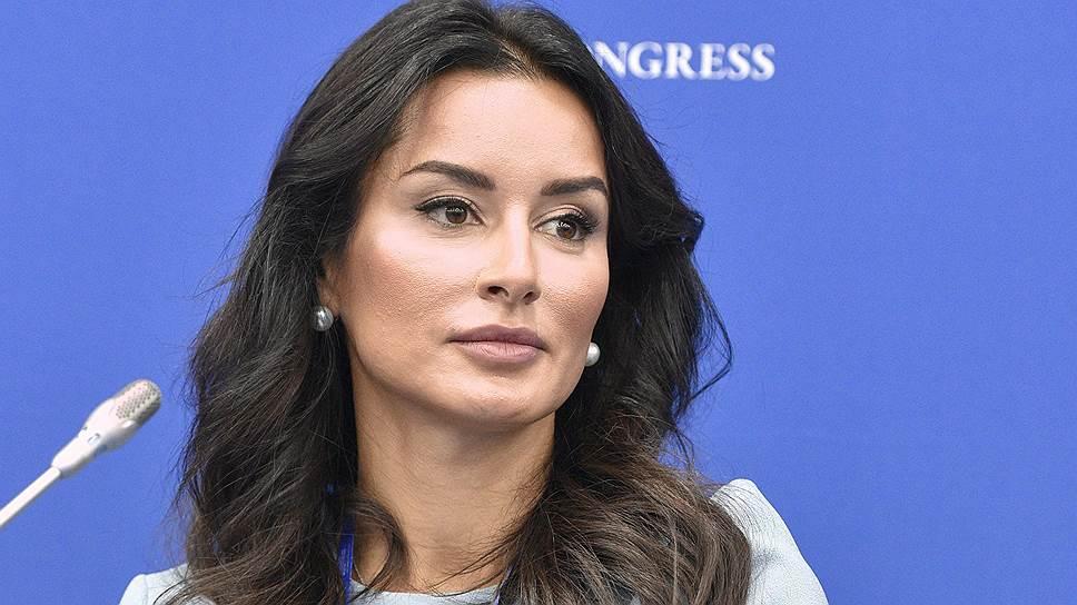 Генеральный продюсер телеканала «Газпром-медиа» «Матч ТВ» Тина Канделаки