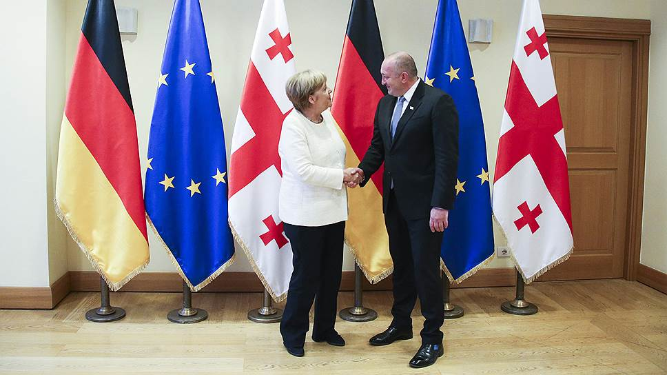 Как прошел визит Ангелы Меркель в Грузию