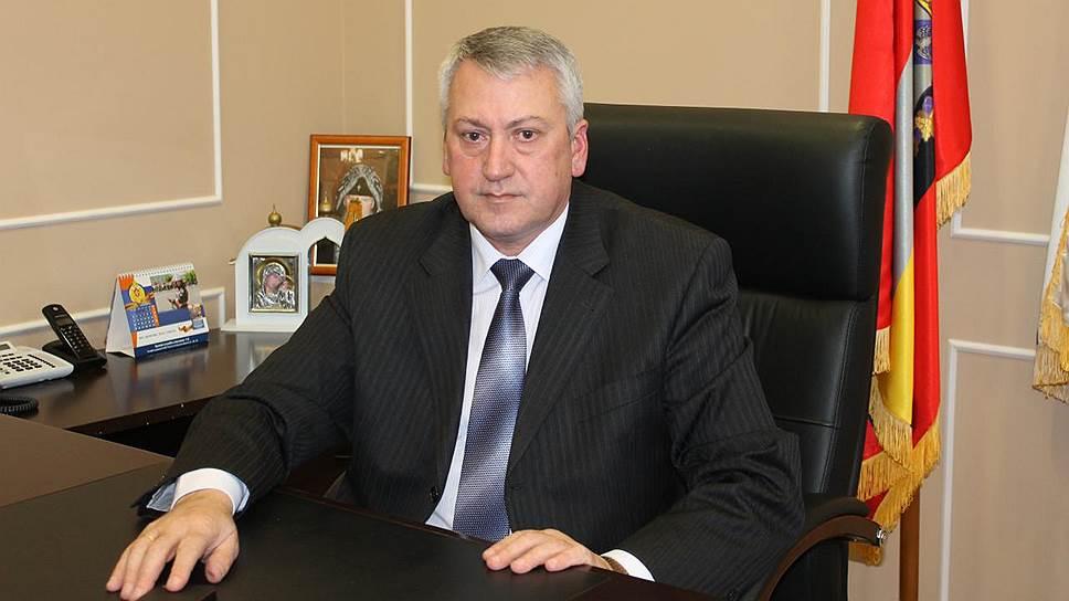 Бывший вице-губернатор Курской области Василий Зубков