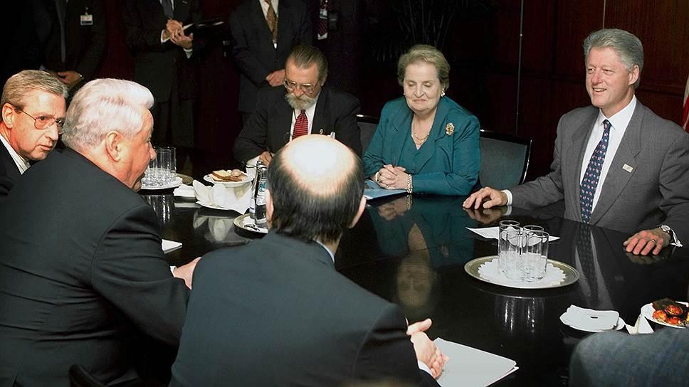 Телефонный разговор Бориса Ельцина и Билла Клинтона 8 сентября 1999 года