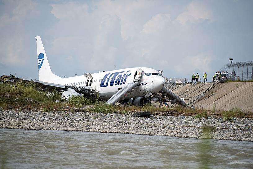 Boeing 737-800 с бортовым номером VQ-BJI следовал из Москвы (Внуково) в Сочи