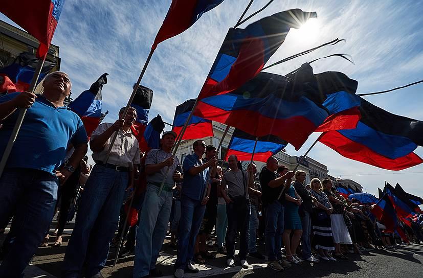 Главу ДНР похоронят на Аллее Героев в Донецке