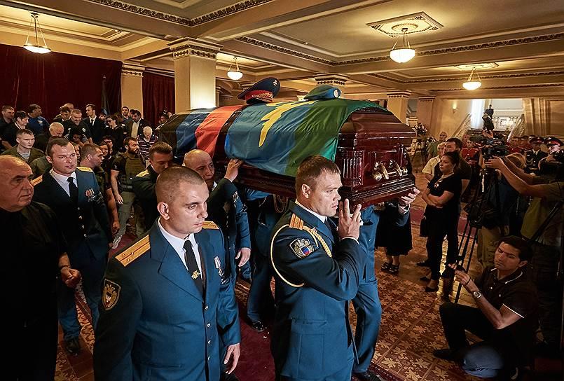 Официальными днями траура в ДНР объявлены 1, 2 и 3 сентября
