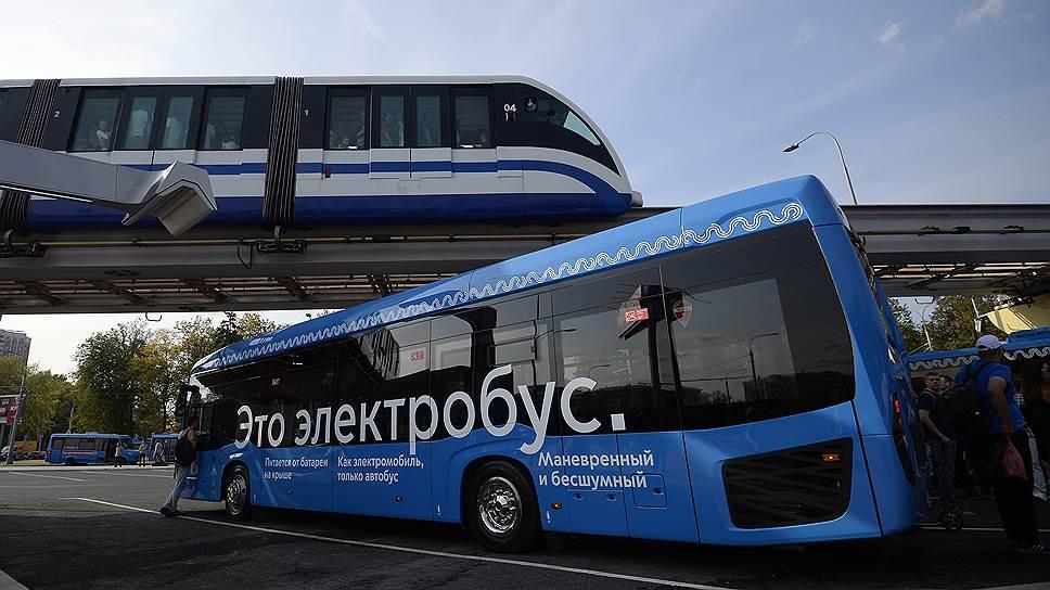 Как в Москве запустили электробусы