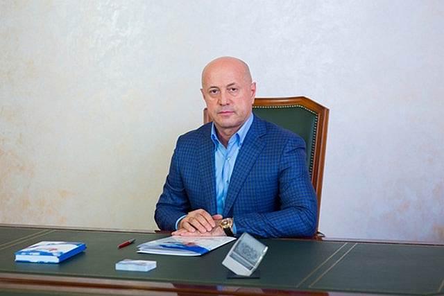 Глава филиала управления федеральных автомобильных дорог «Каспий» Магомедрасул Омаров