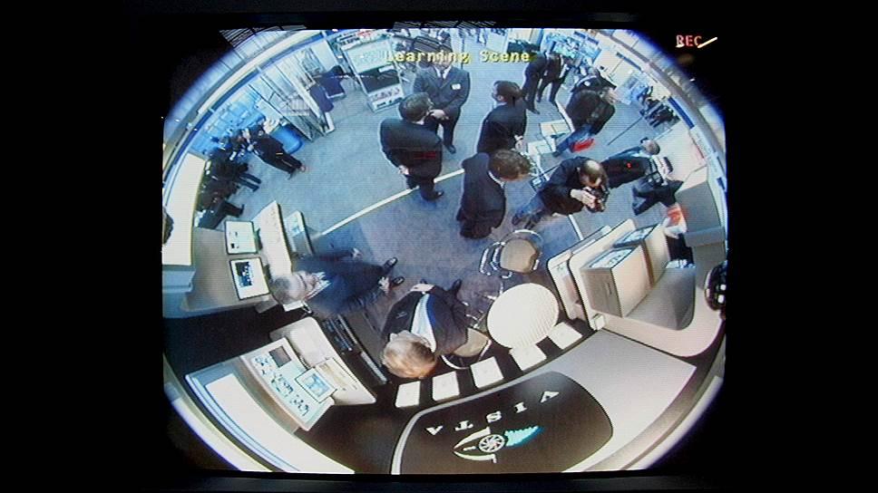 Камера на 360 градусов — один из экспонатов ежегодной выставки «Строительство безопасного мира» в кенсингтонской «Олимпии» в Лондоне
