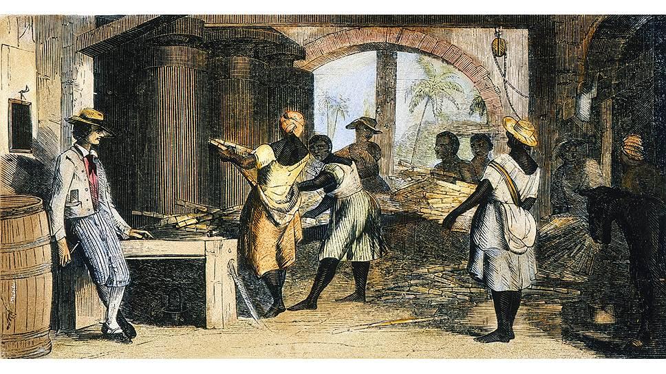 Острова Вест-Индии стали основой африканского рабства для сахарного богатства
