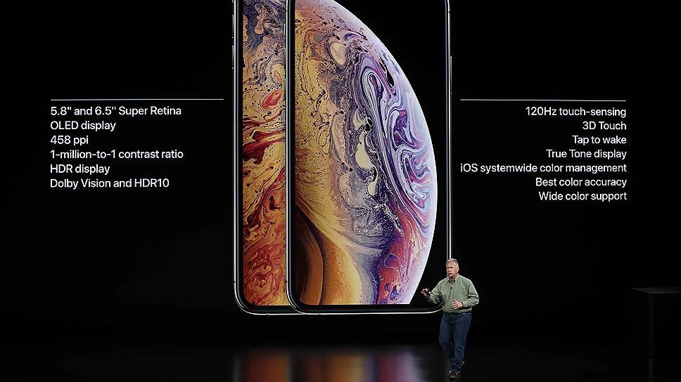 Стоимость нового iPhone Xs составит $999 или 87 990 руб. Диагональ OLED-экрана составляет 5,8 дюйма, двойная камера на 12 МР, HD-дисплей Super Retina