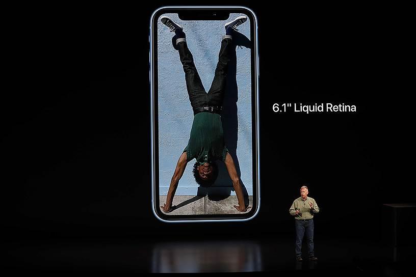 iPhone Xr представлен в трех вариантах памяти: 64, 126 и 256 Гб и в нескольких цветах: белый, черный, синий, желтый и коралловый