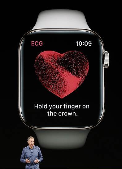 В новых часах есть датчик измерения сердечной активности