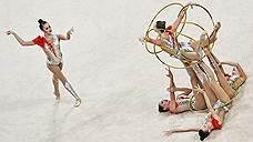Российские гимнастки традиции не изменили