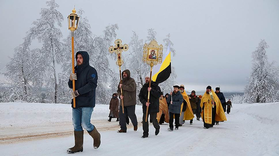 Белогорский Свято-Николаевский мужской монастырь. Крестный ход