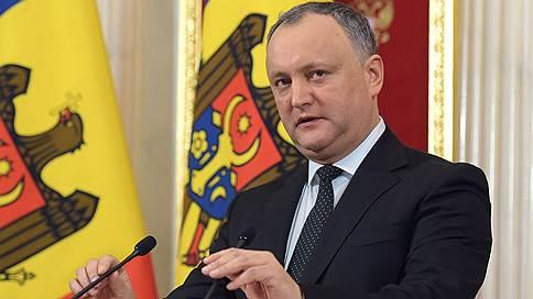 Россия инвестирует миллионы в экономику Молдавии // Но только если президент Игорь Додон обеспечит политическую стабильность