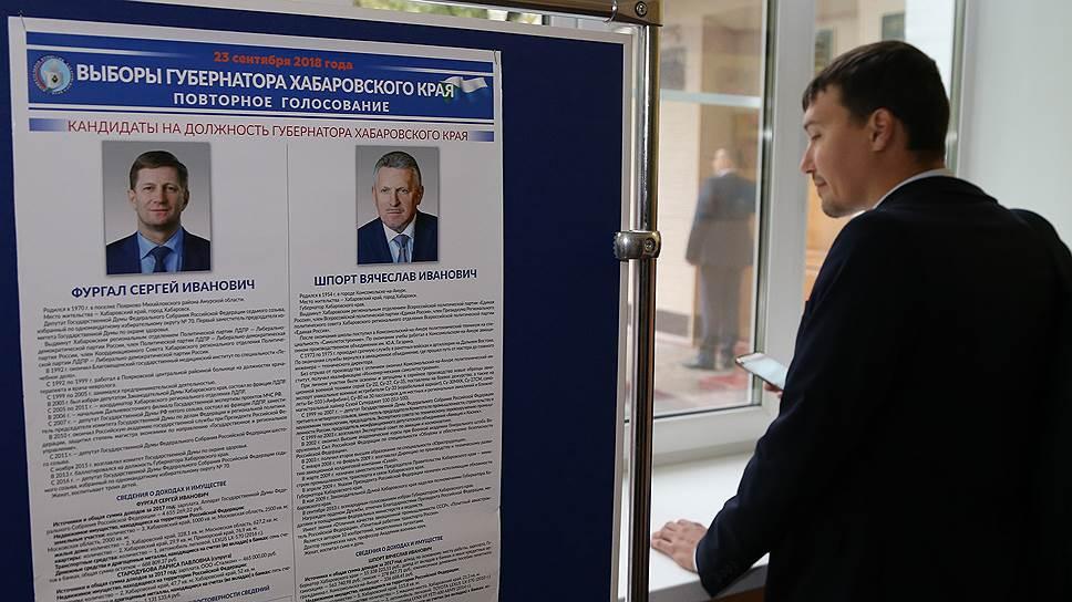О каких нарушениях сообщалось в ходе выборов губернатора Хабаровского края