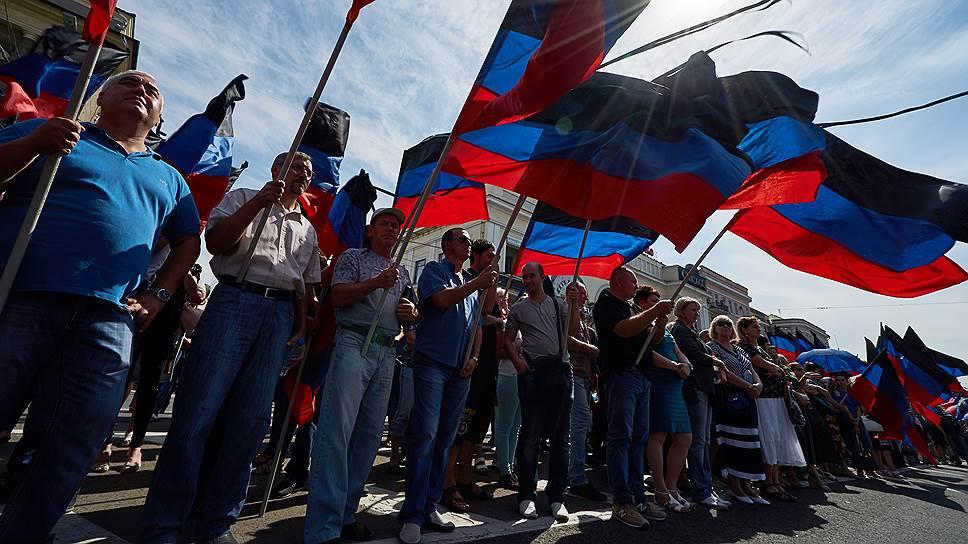 Как будут проходить выборы в Донбассе