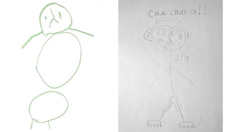 В работе с травмированными детьми психологи часто используют проективную методику «Рисунок человека»