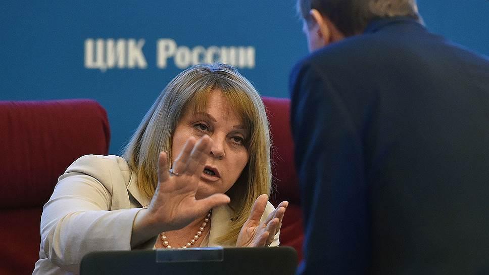 Почему Элла Памфилова требует компенсацию от кандидатов «Единой России» и депутатов КПРФ