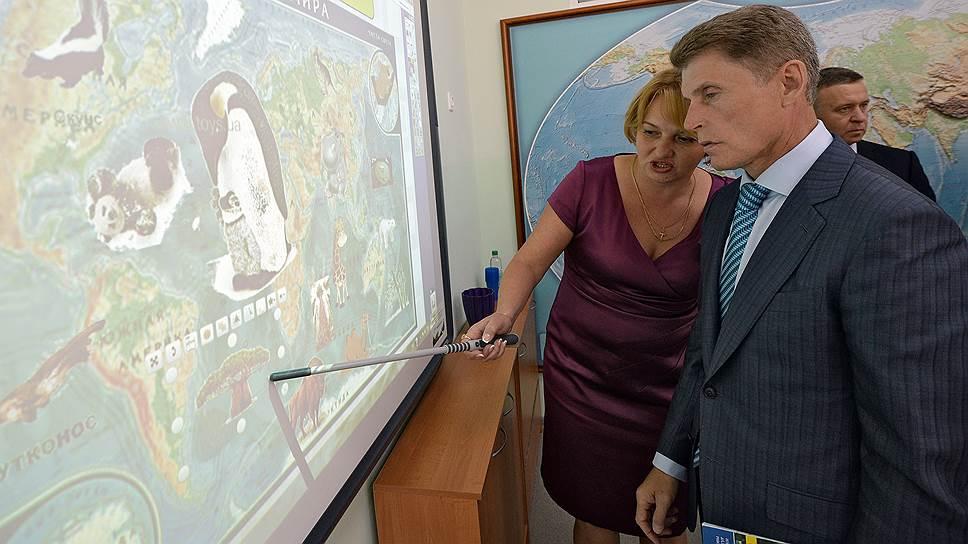 Врио губернатора Приморского края Олег Кожемяко