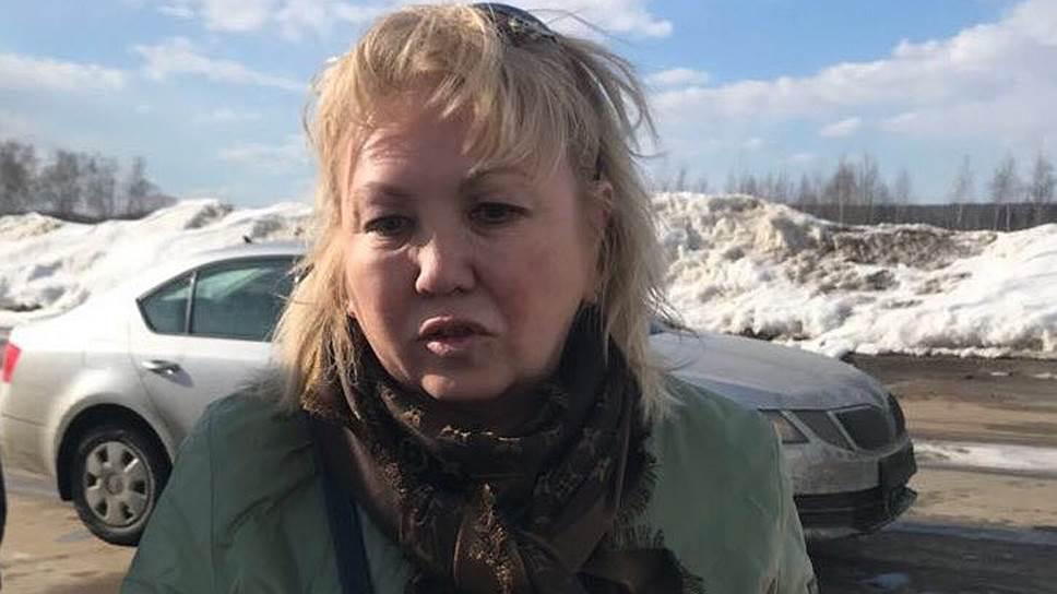 Бывшая начальница инспекции государственного строительного надзора Кемеровской области Танзиля Комкова