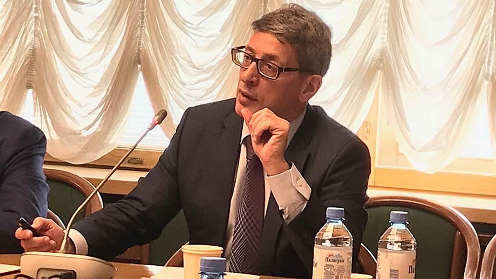 Гендиректор фирмы «Материа Медика Холдинг» Олег Эпштейн