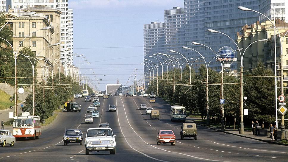 В дни московской Олимпиады никаких пробок не было