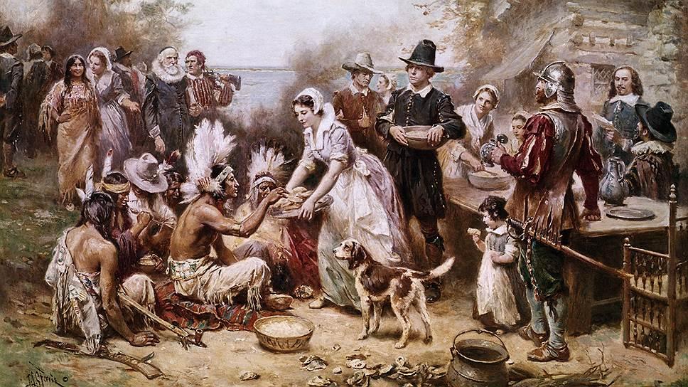 О времени начала антропоцена спорят, но есть мнение, что он начался во время колонизации Нового Света европейцами
