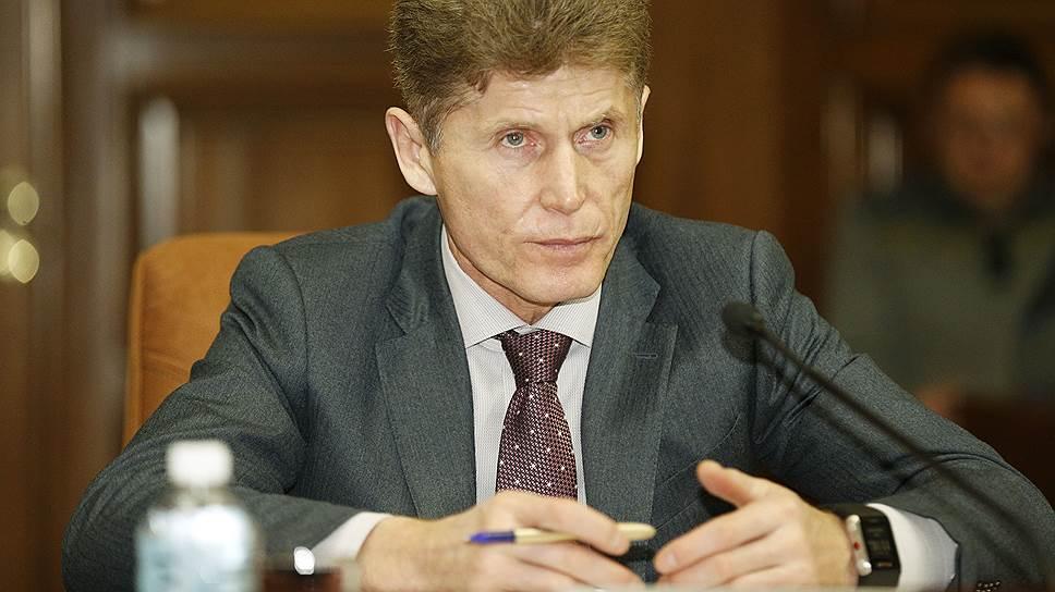 Врио губернатора Приморья Олег Кожемяко