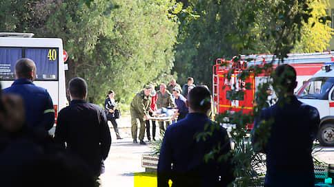 Нападение на колледж в Керчи  / Онлайн-трансляция: в результате взрыва и расстрела учащихся погибли 20 человек, нападавший покончил с собой
