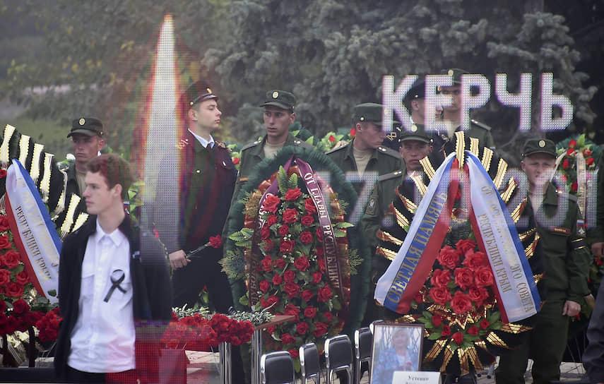 В апреле 2019 года кинокомпания Bazelevs Тимура Бекмамбетова приступила к съемкам фильма о массовом убийстве в Керчи