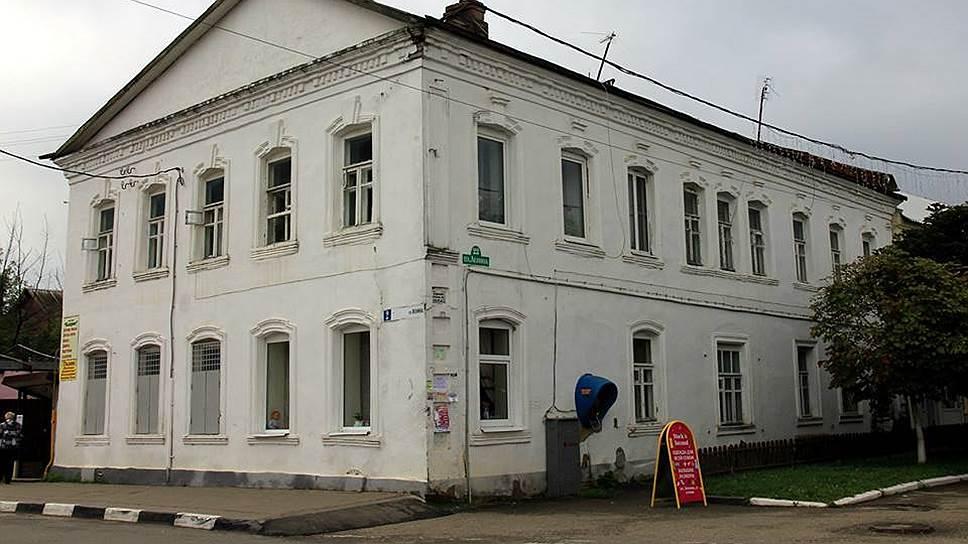 Дом с чайной купца Писарева в Боровске