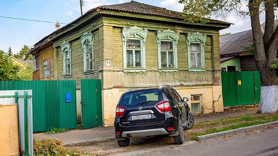 Купеческий особняк на улице Володарского в Боровске