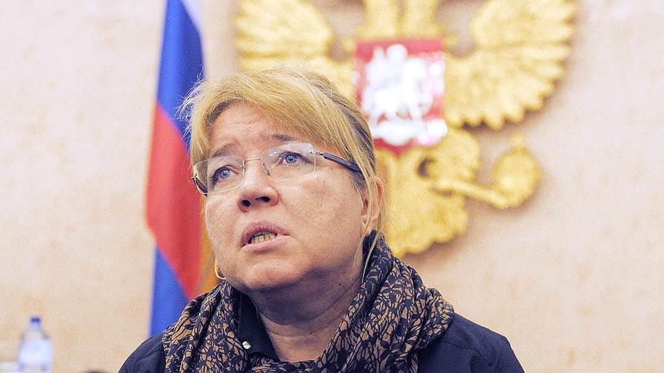 Исполнительный директор международного «Мемориала» Елена Жемкова