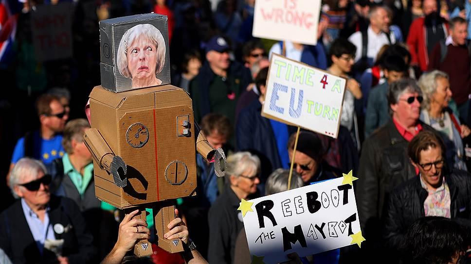 Как британцы требовали пересмотреть «Брексит»
