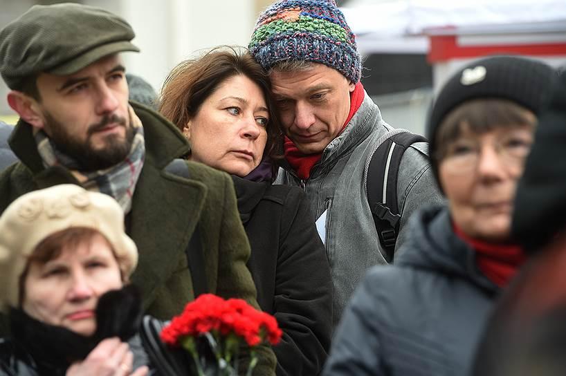 В ходе акции ее участники зачитывают имена расстрелянных в годы сталинского террора