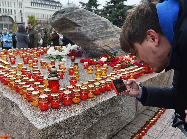 Акцию проводит Международная общественная организация «Мемориал»