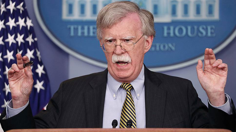 Советник президента США по нацбезопасности Джон Болтон