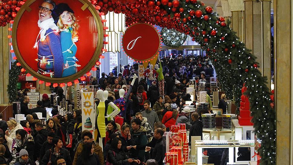 Американцы потратят на Рождество $1 трлн