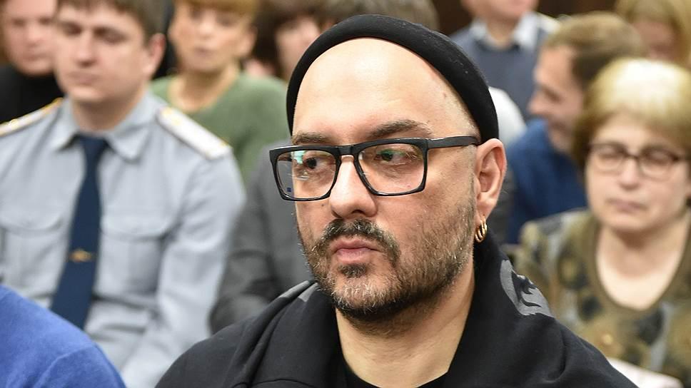 Режиссер, художественный руководитель «Гоголь-центра» Кирилл Серебренников