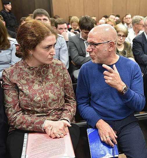 Директор РАМТ Софья Апфельбаум и бывший генеральный директор «Гоголь-центра» Алексей Малобродский