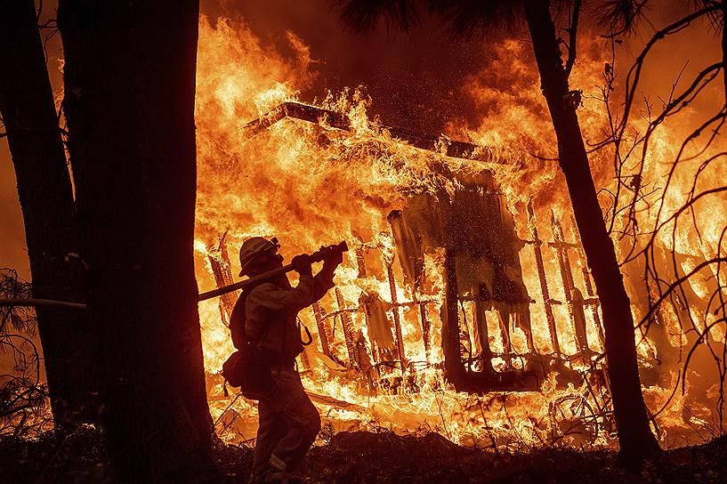 Президент США Дональд Трамп заявил, что в результате пожаров в Калифорнии имеются «катастрофические разрушения»