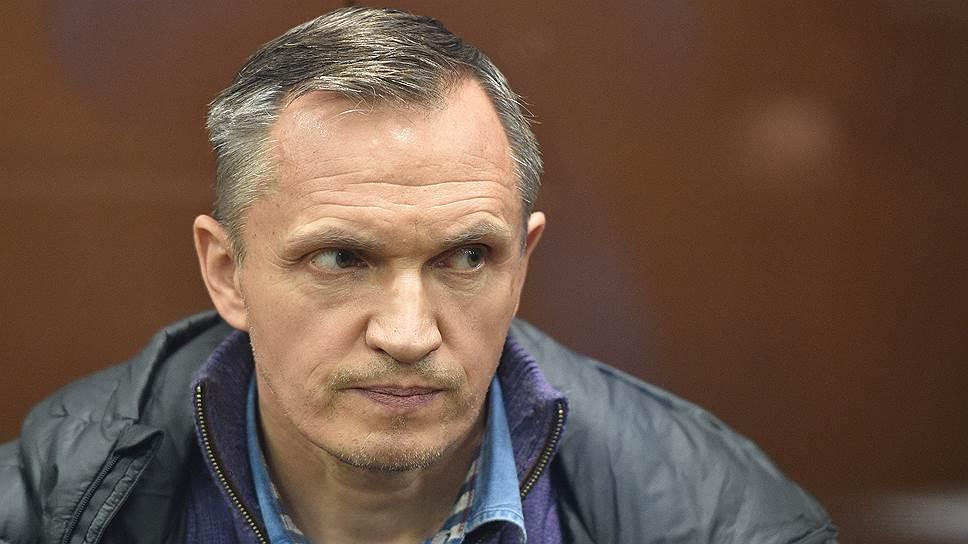 Совладелец и гендиректор девелоперской группы компаний «Пересвет-Инвест» Олег Пронин после задержания в зале суда